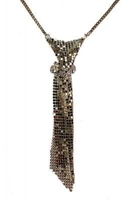 Metal Mesh Necklace
