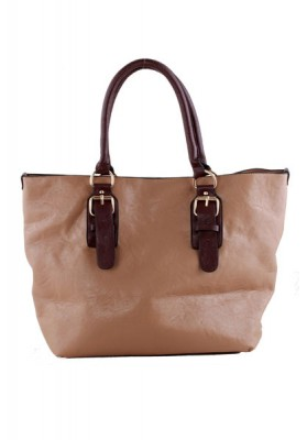 Designer Handbag with zipper top