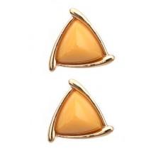 Pyramid Gemstone Earrings